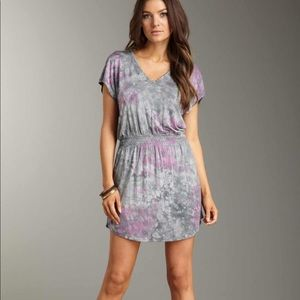 La Made NWT Julia V neck tie Dye Dress Large